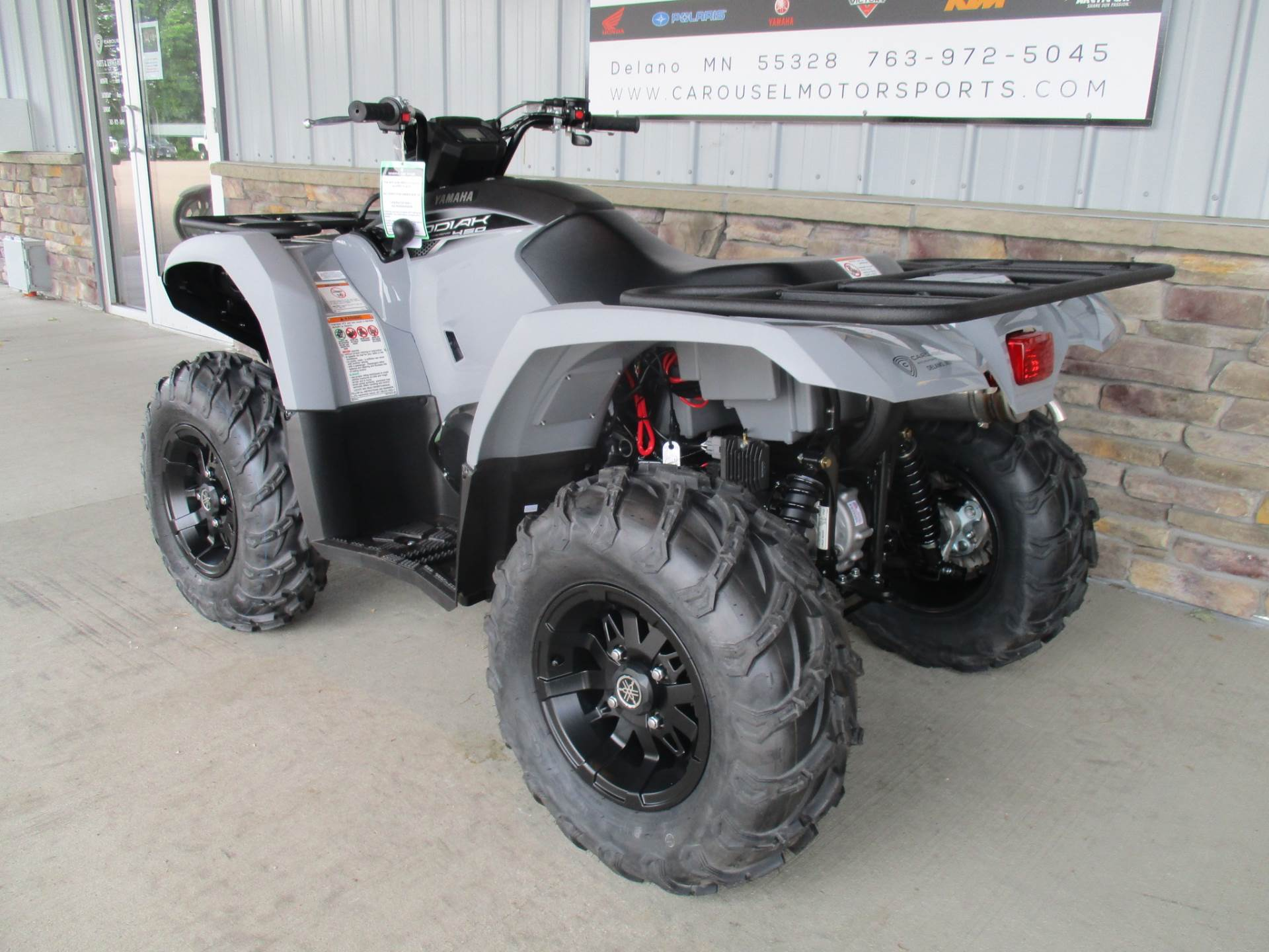 2018 Yamaha Kodiak 450 EPS in Delano, Minnesota
