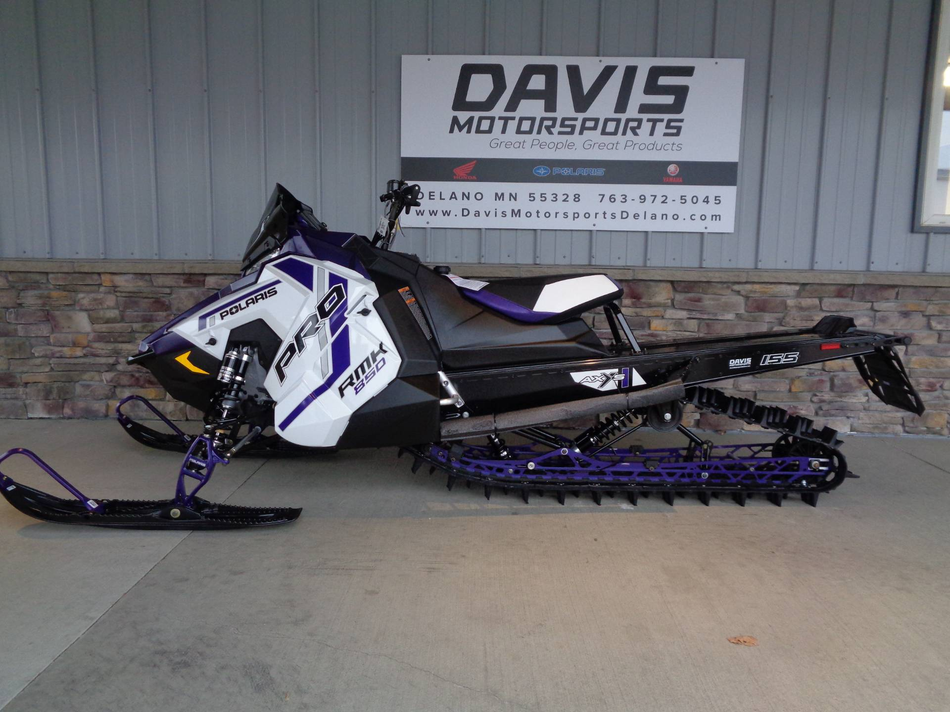 2021 Polaris 850 PRO RMK 155 2.6 in. Factory Choice in Delano, Minnesota - Photo 2