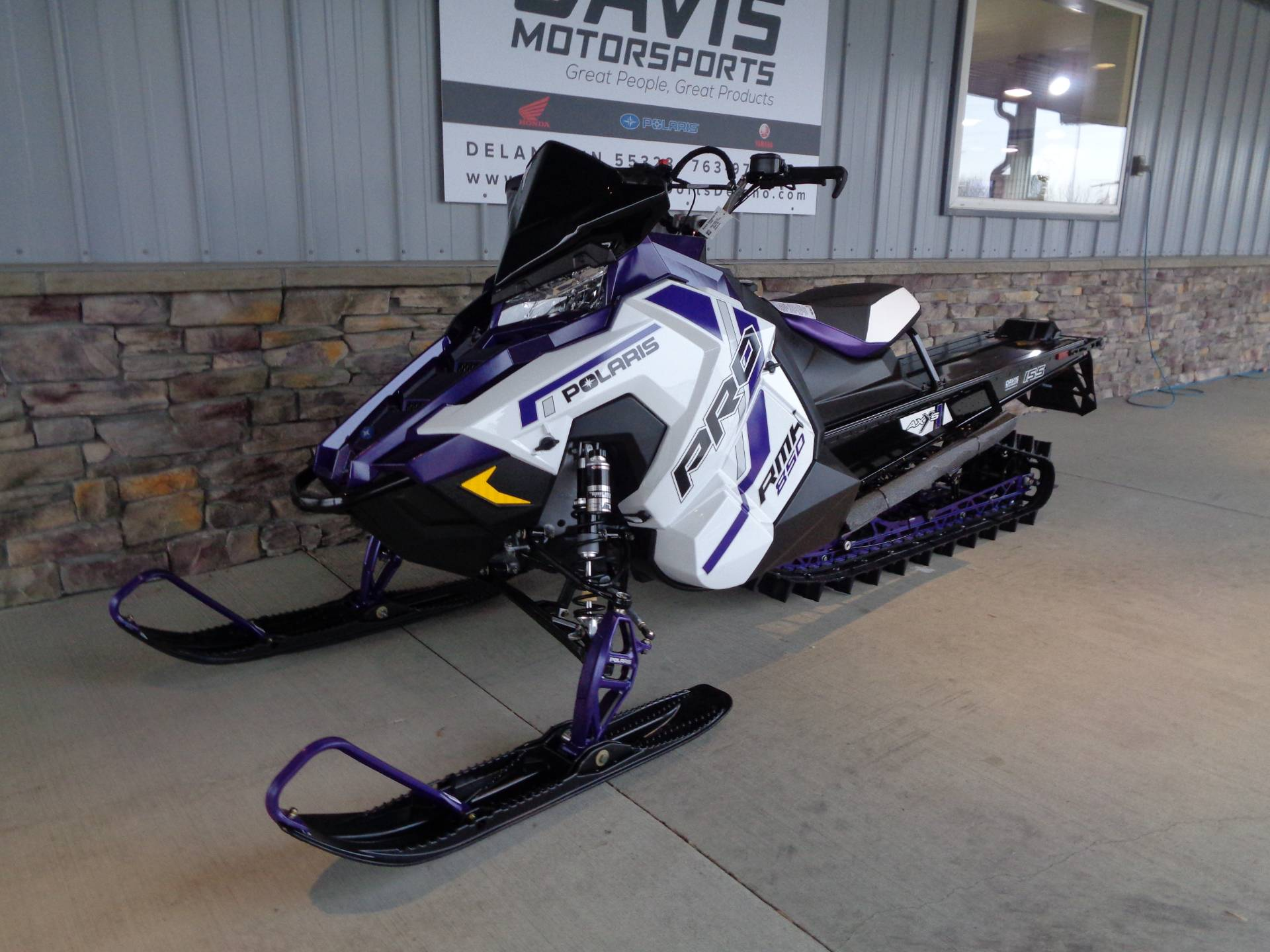 2021 Polaris 850 PRO RMK 155 2.6 in. Factory Choice in Delano, Minnesota - Photo 4