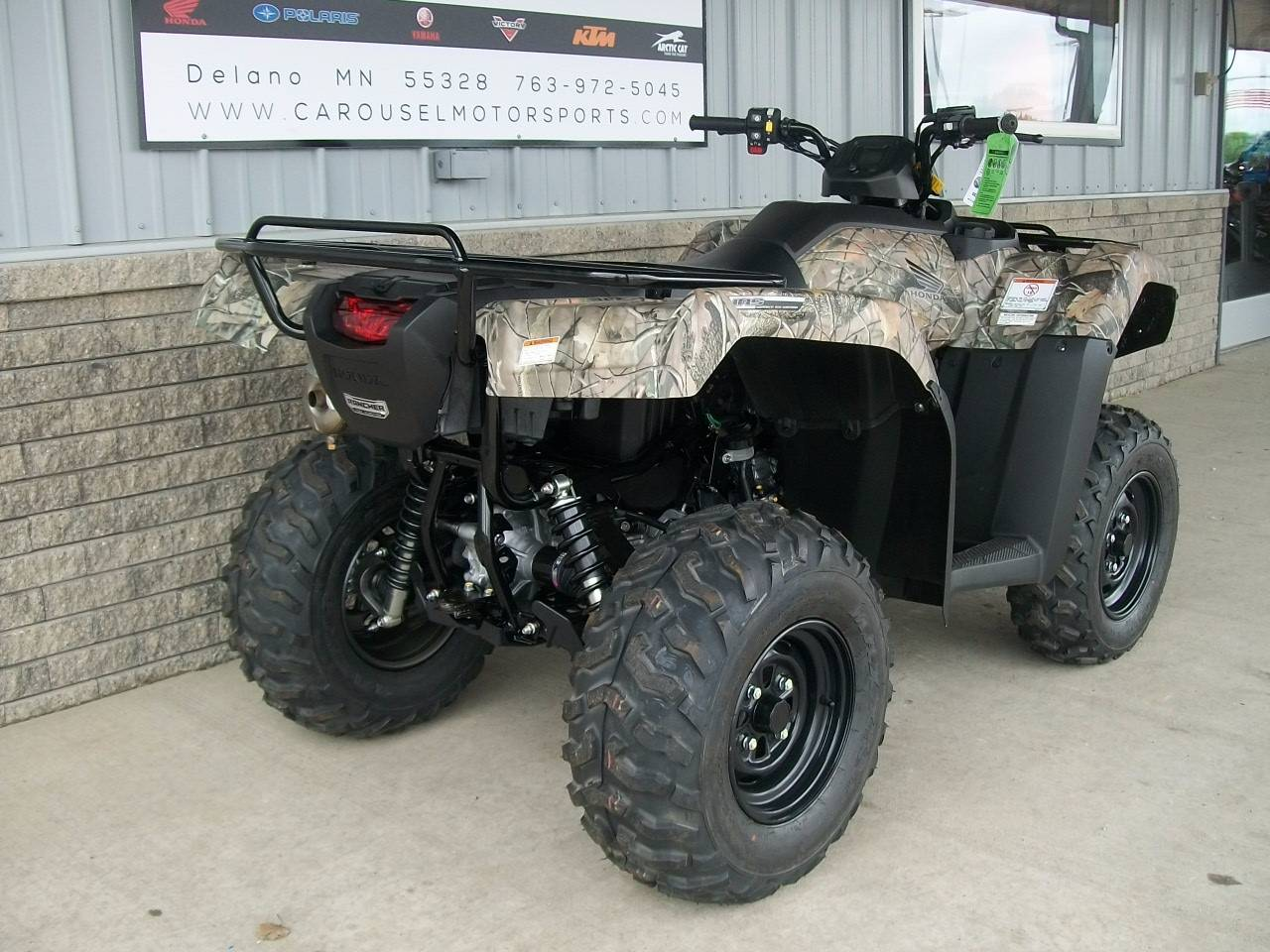 2017 Honda FourTrax Rancher 4x4 DCT IRS EPS in Delano, Minnesota
