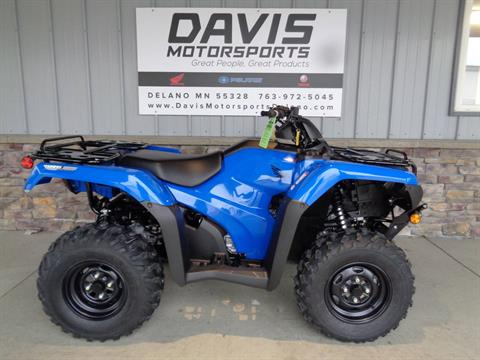 2021 Honda FourTrax Rancher 4x4 Automatic DCT IRS EPS in Delano, Minnesota - Photo 1