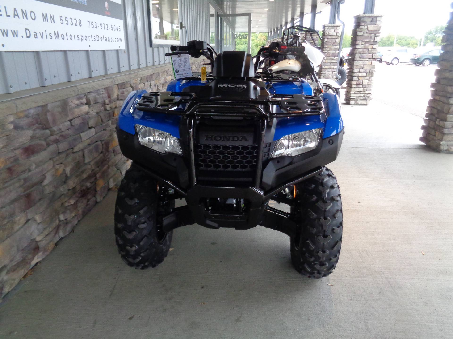 2021 Honda FourTrax Rancher 4x4 Automatic DCT IRS EPS in Delano, Minnesota - Photo 9
