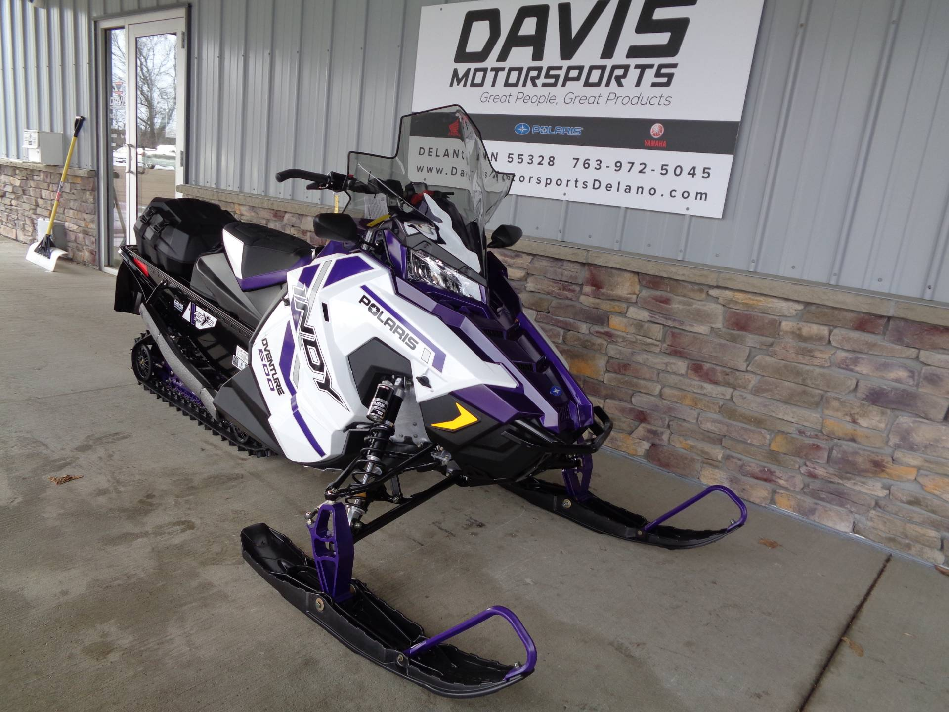 2021 Polaris 600 Indy Adventure 137 Factory Choice in Delano, Minnesota - Photo 3