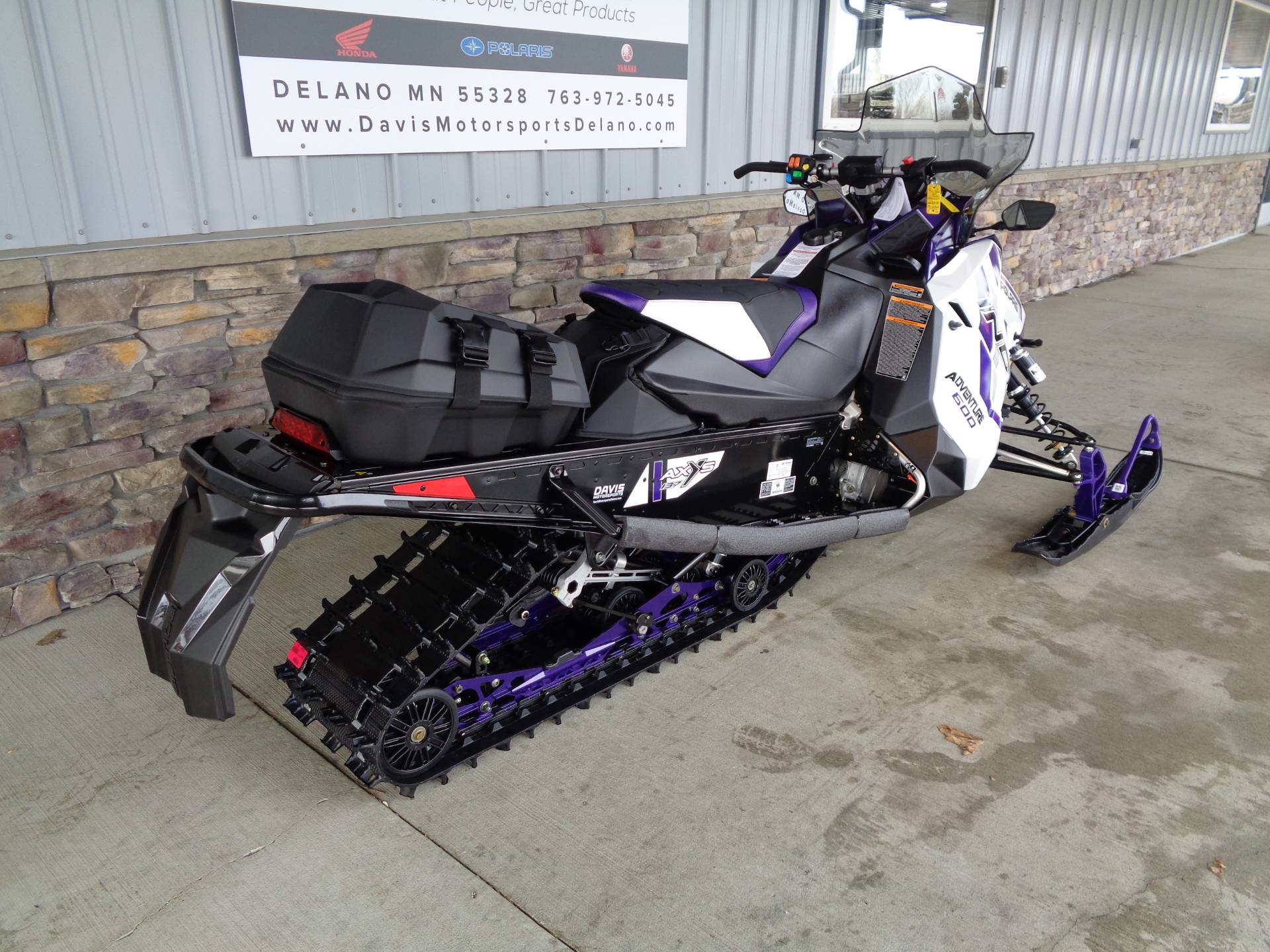 2021 Polaris 600 Indy Adventure 137 Factory Choice in Delano, Minnesota - Photo 6