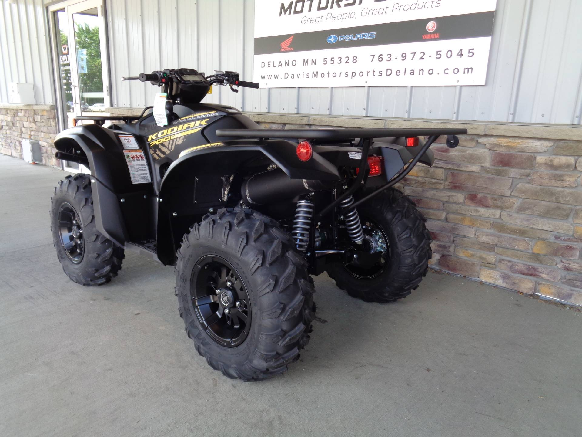 2020 Yamaha Kodiak 700 EPS SE in Delano, Minnesota - Photo 6