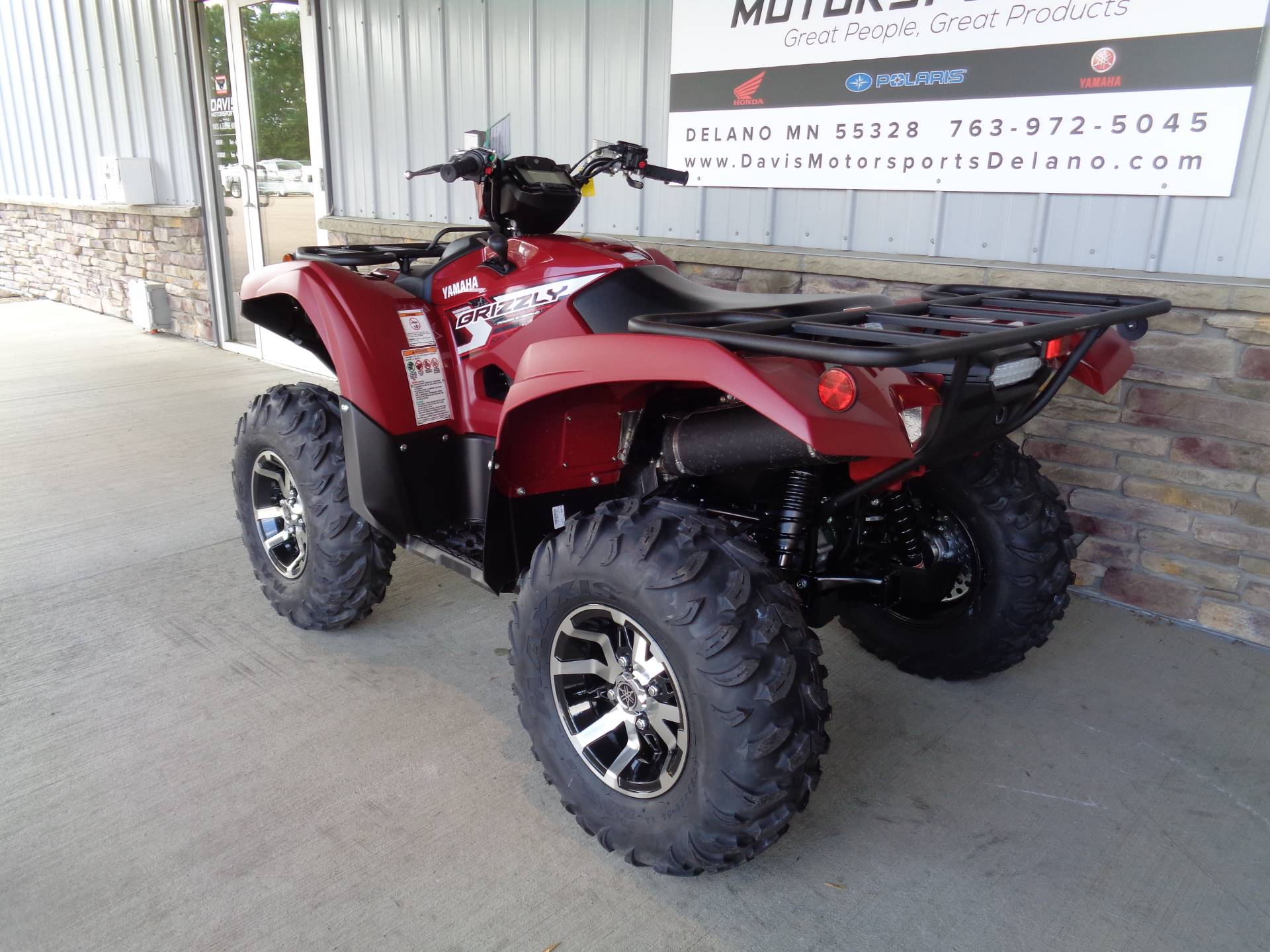 2019 Yamaha Grizzly Eps In Delano Minnesota