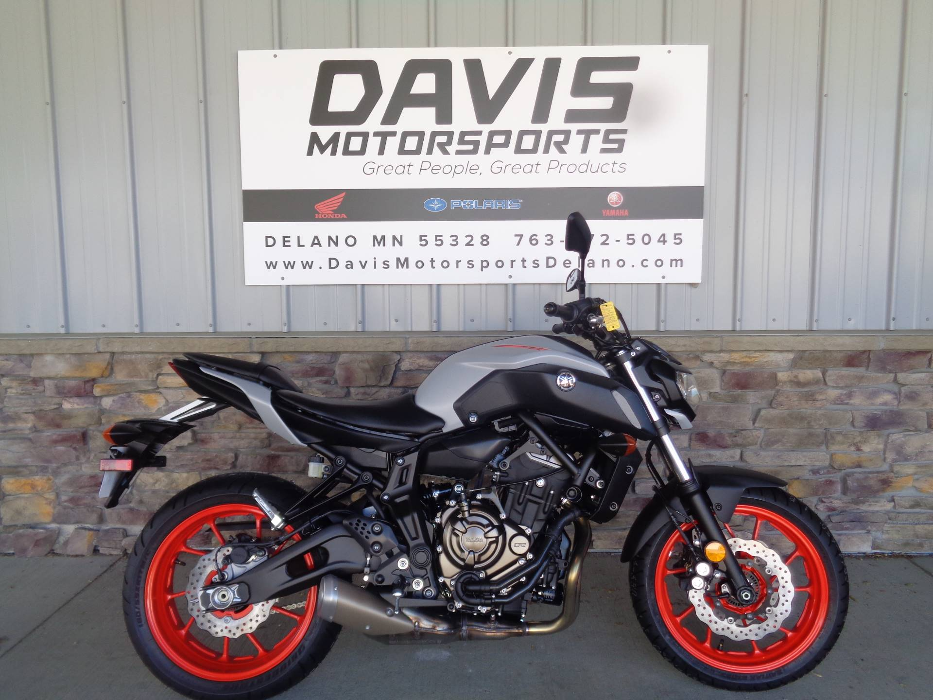 2020 Yamaha MT-07 in Delano, Minnesota - Photo 1