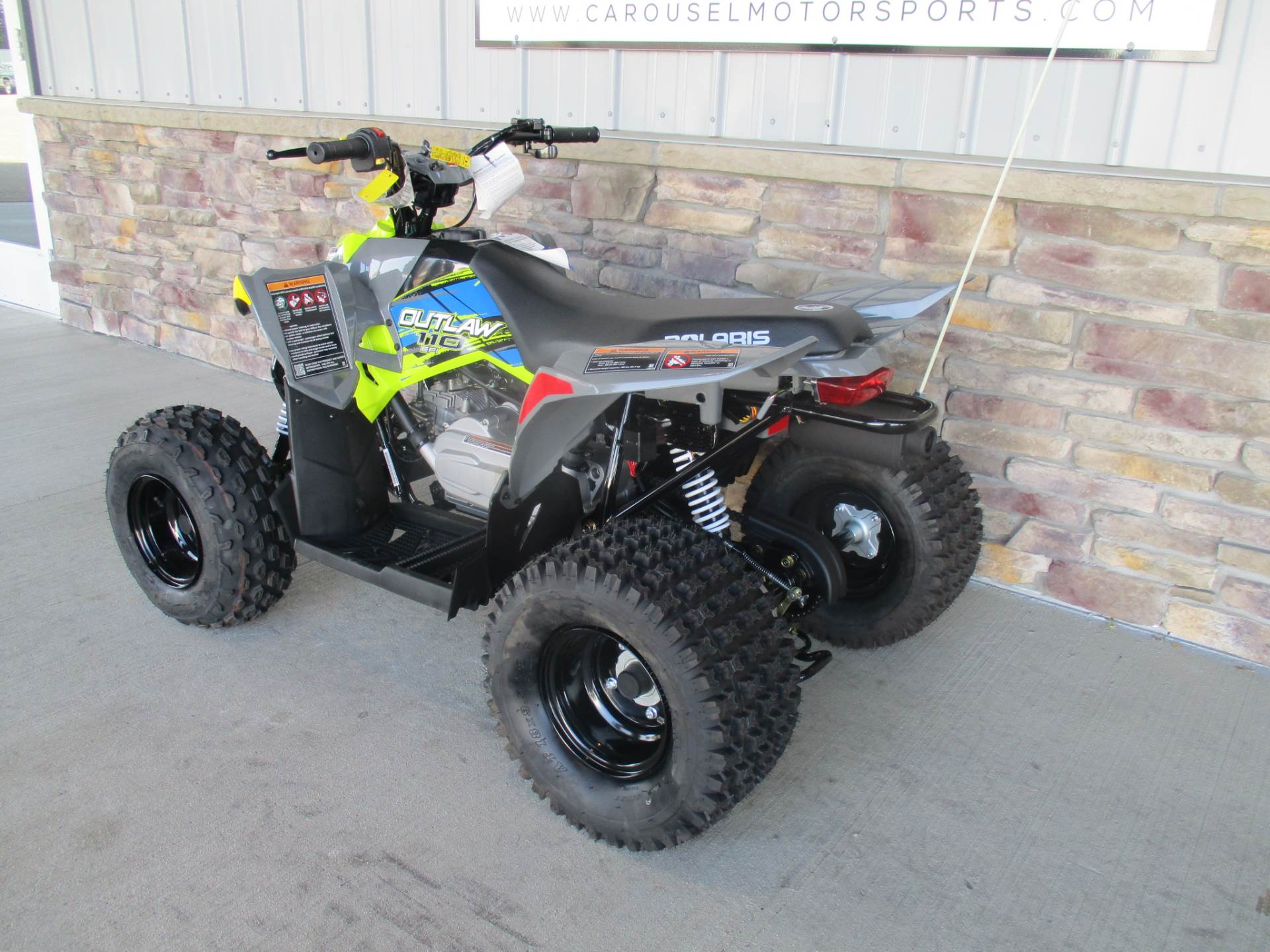 2018 Polaris Outlaw 110 in Delano, Minnesota