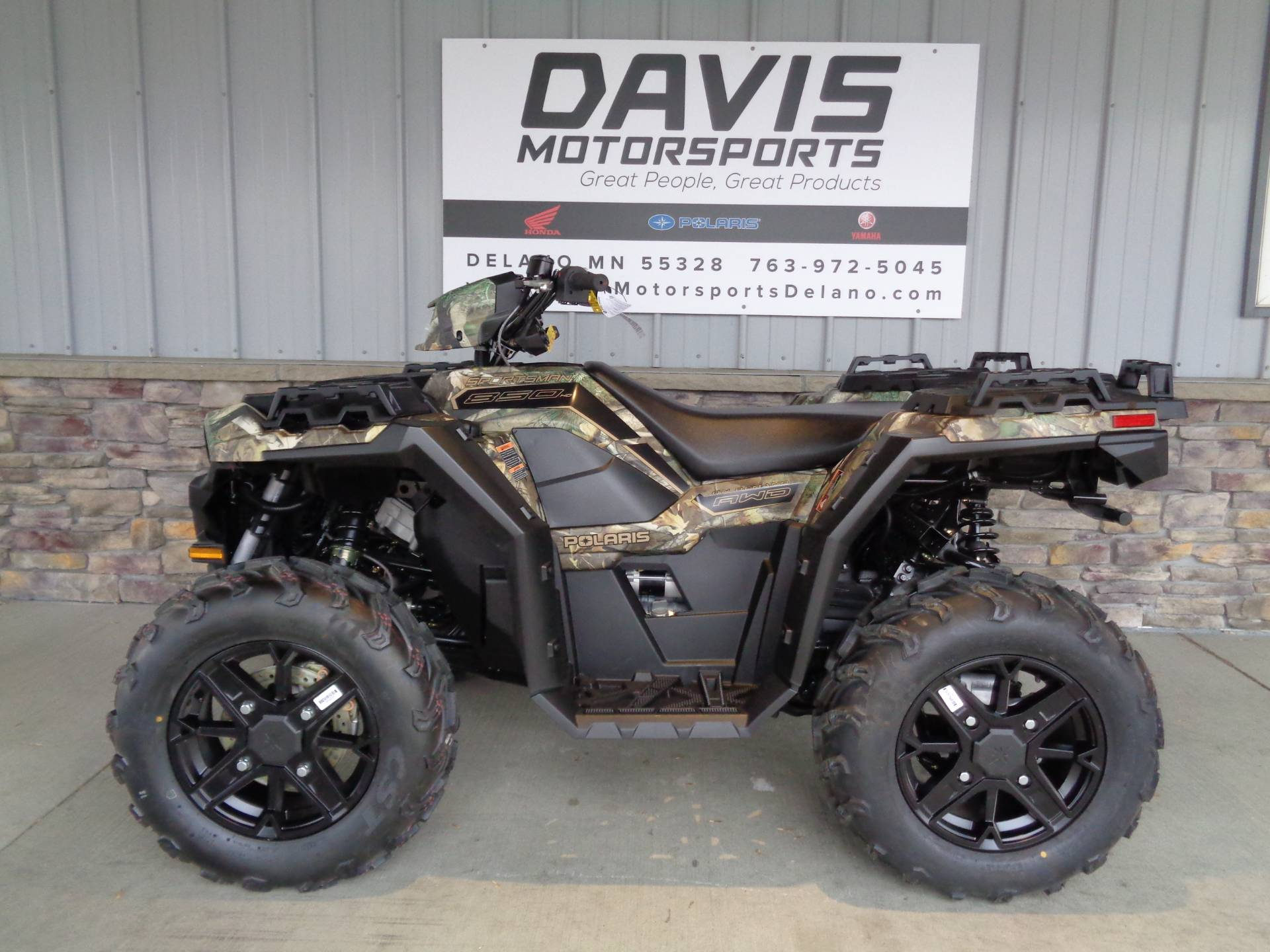 2021 Polaris Sportsman 850 Premium in Delano, Minnesota - Photo 2