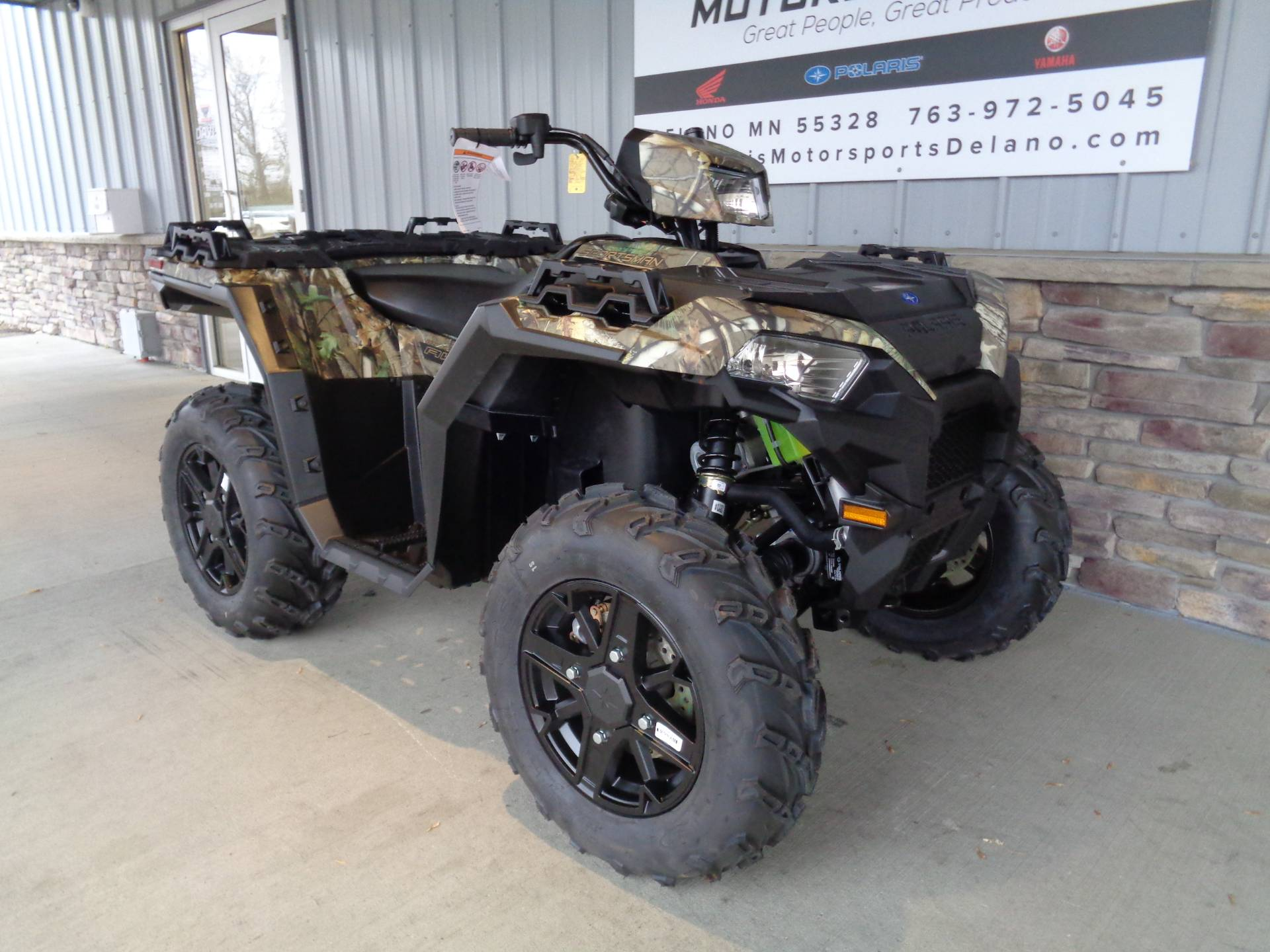 2021 Polaris Sportsman 850 Premium in Delano, Minnesota - Photo 3
