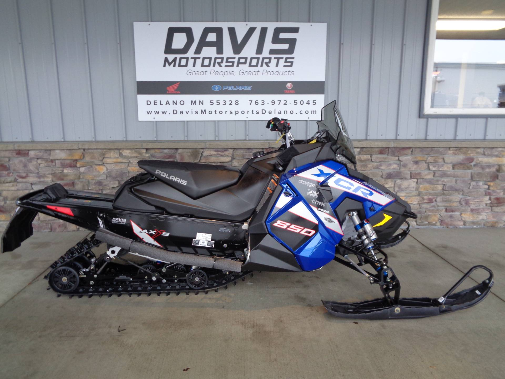 2021 Polaris 850 Indy XCR 129 Factory Choice in Delano, Minnesota - Photo 1