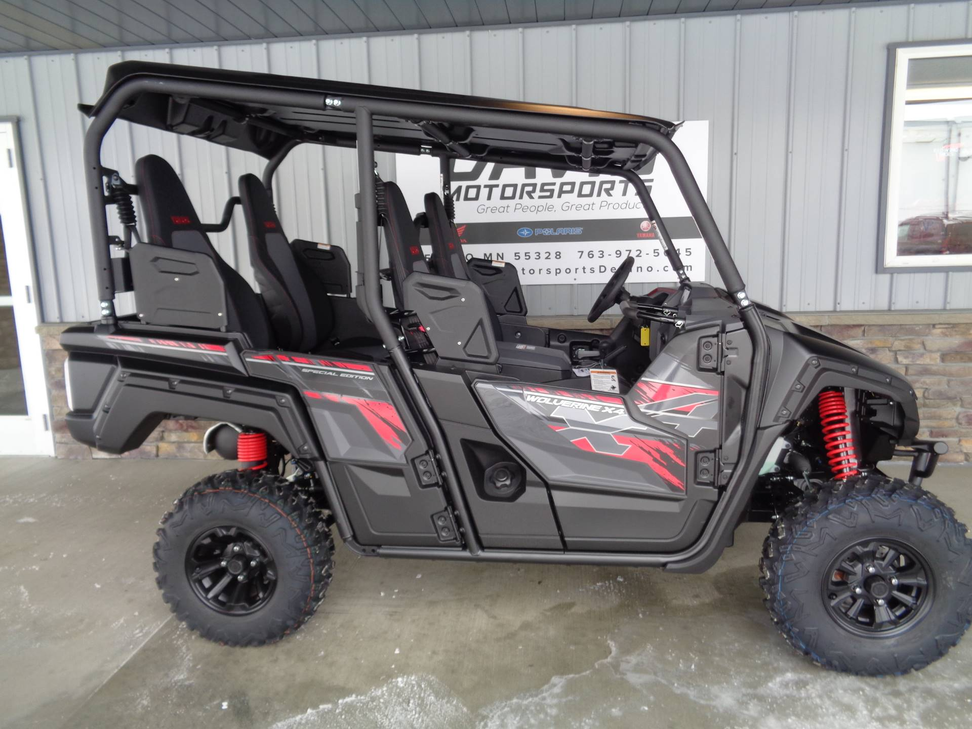 1388d684a9a 2019 Yamaha Wolverine X4 SE in Delano