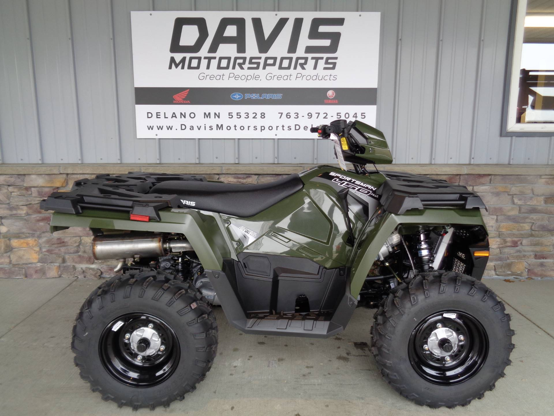 2020 Polaris Sportsman 450 H.O. in Delano, Minnesota - Photo 1