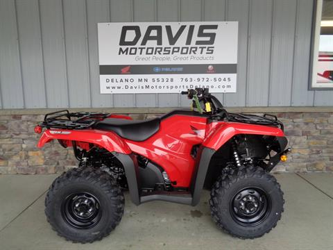 2020 Honda FourTrax Rancher 4x4 Automatic DCT IRS EPS in Delano, Minnesota - Photo 1