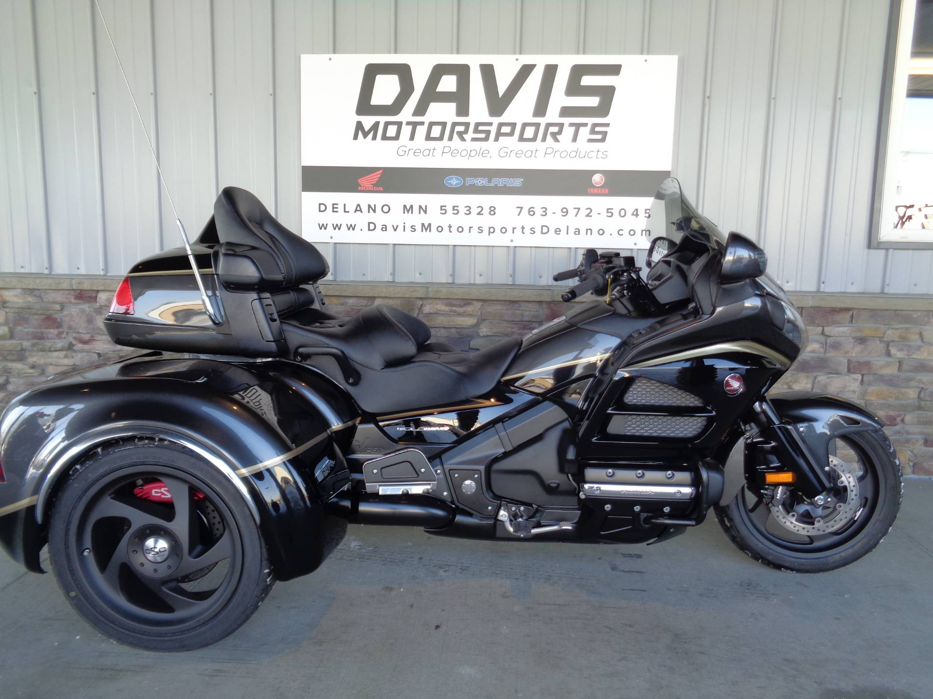 2016 Honda Gold Wing Audio Comfort in Delano, Minnesota - Photo 1