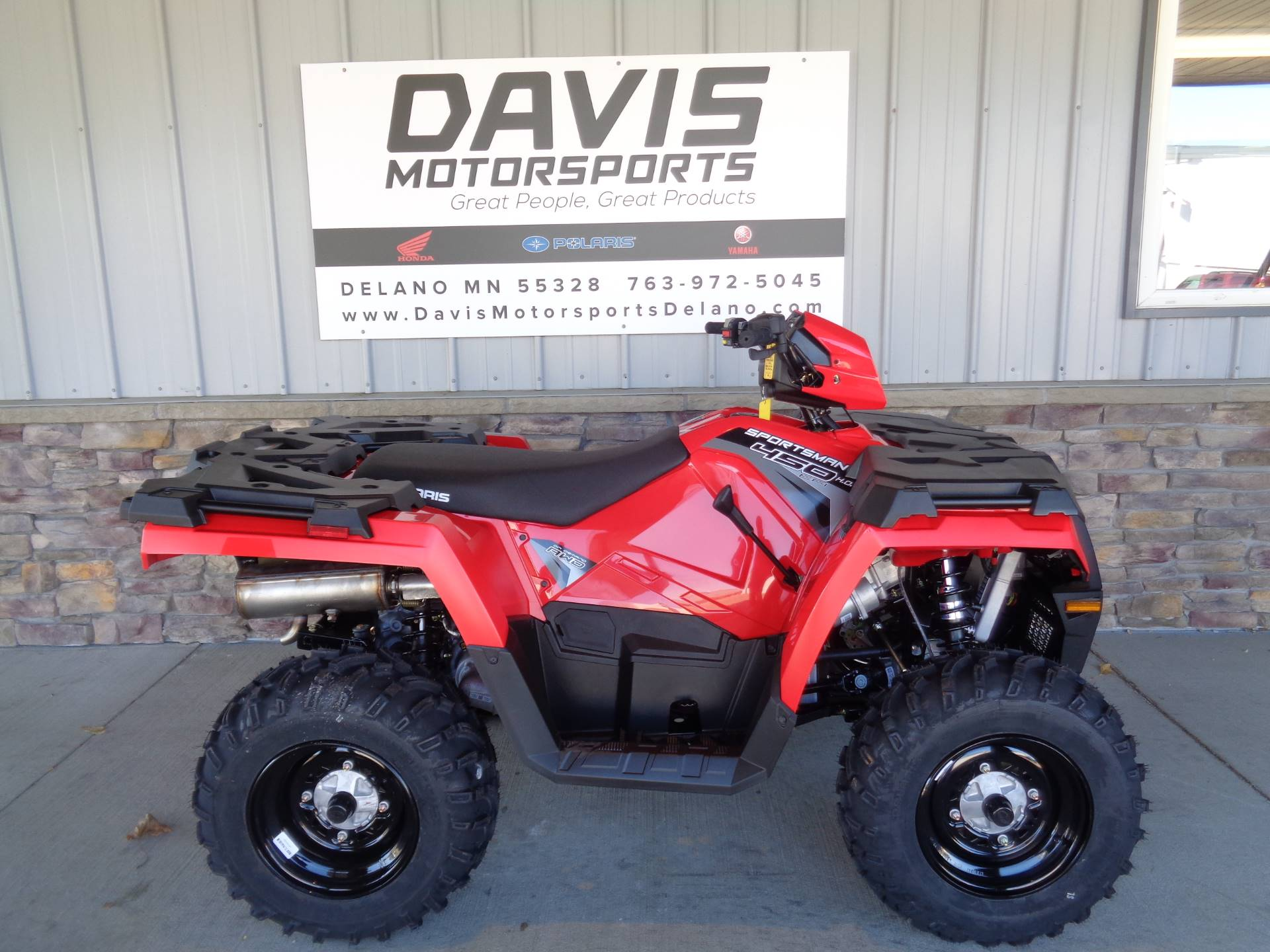 2019 Polaris Sportsman 450 H.O. EPS in Delano, Minnesota - Photo 1