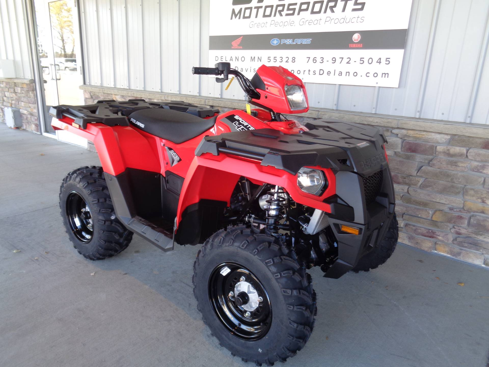 2019 Polaris Sportsman 450 H.O. EPS in Delano, Minnesota - Photo 3