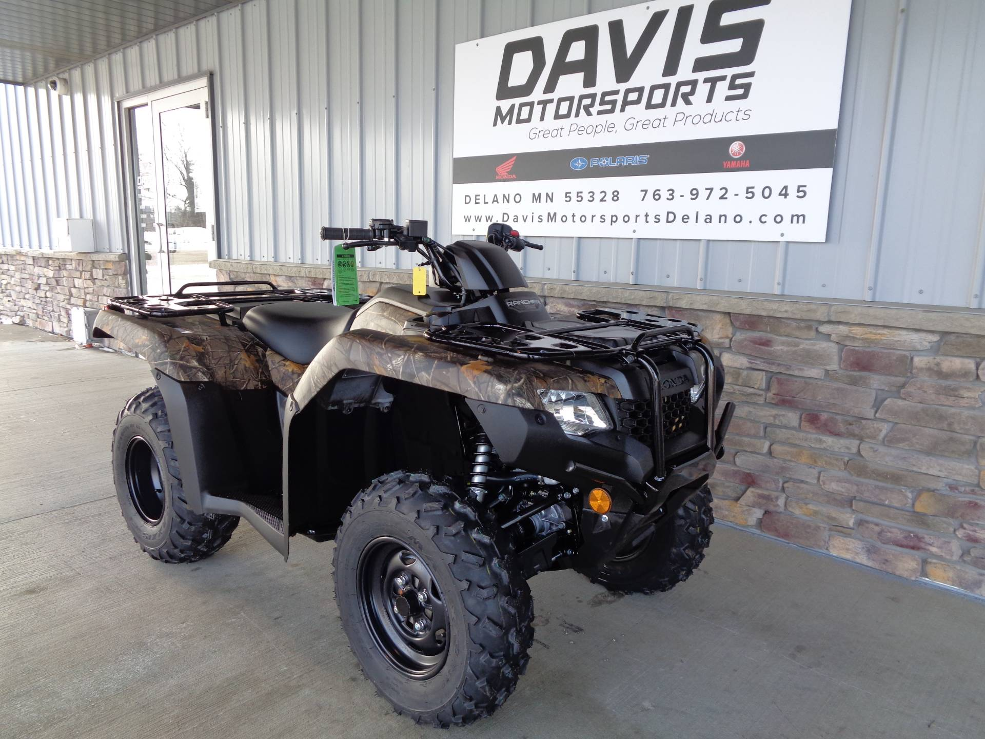 2021 Honda FourTrax Rancher 4x4 Automatic DCT EPS in Delano, Minnesota - Photo 3