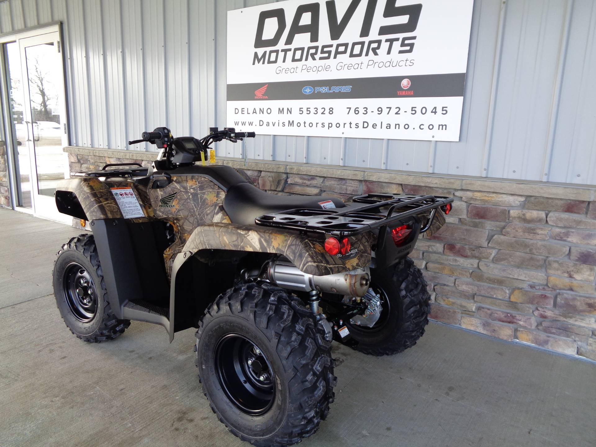 2021 Honda FourTrax Rancher 4x4 Automatic DCT EPS in Delano, Minnesota - Photo 6