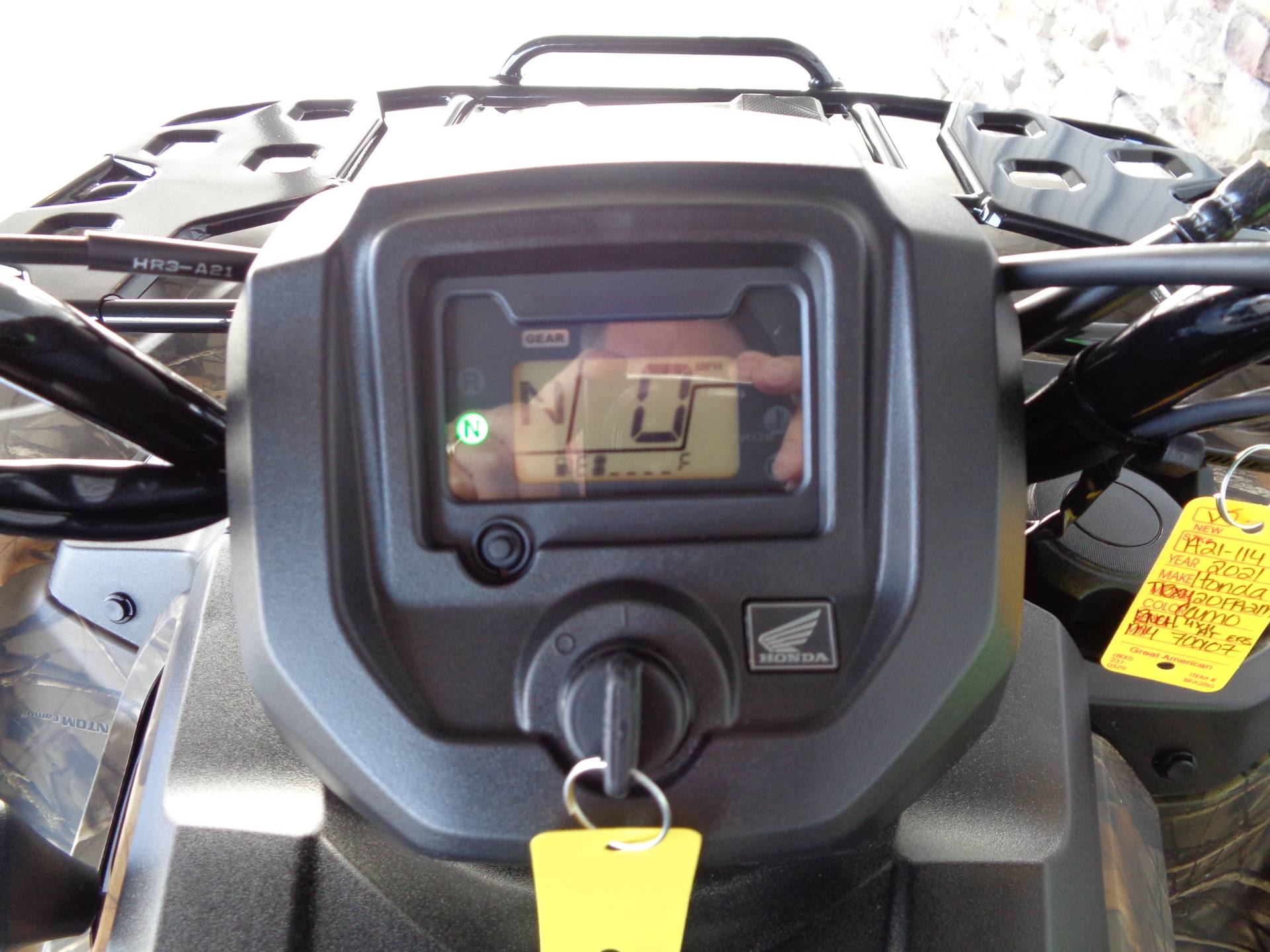 2021 Honda FourTrax Rancher 4x4 Automatic DCT EPS in Delano, Minnesota - Photo 7