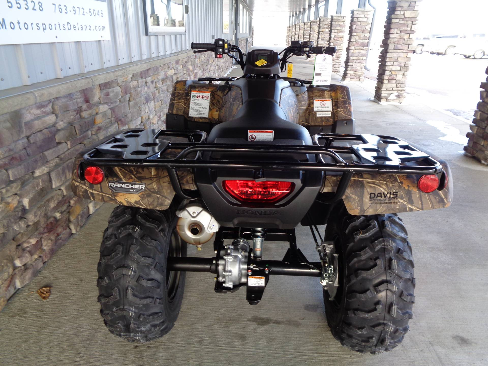 2021 Honda FourTrax Rancher 4x4 Automatic DCT EPS in Delano, Minnesota - Photo 8