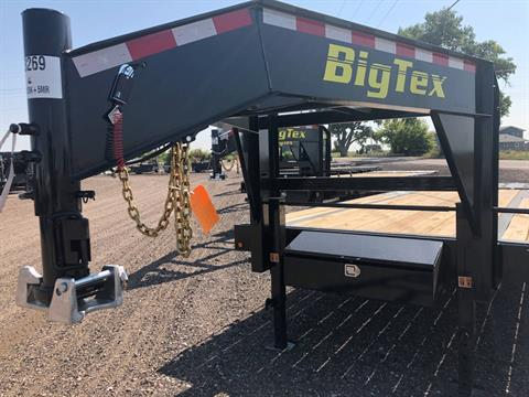 2019 Big Tex Trailers - Manufacturers BIG TEX 20' GOOSENECK 15.9K TANDEM MEGA RAMPS in Scottsbluff, Nebraska
