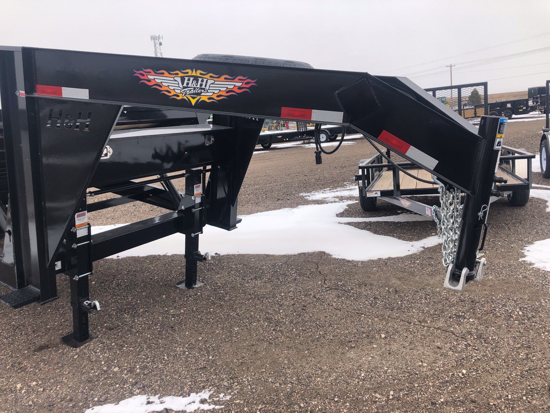 2019 H&H Trailers H&H 82X28 EX HD GN SPEEDLOADER 14K in Scottsbluff, Nebraska - Photo 1