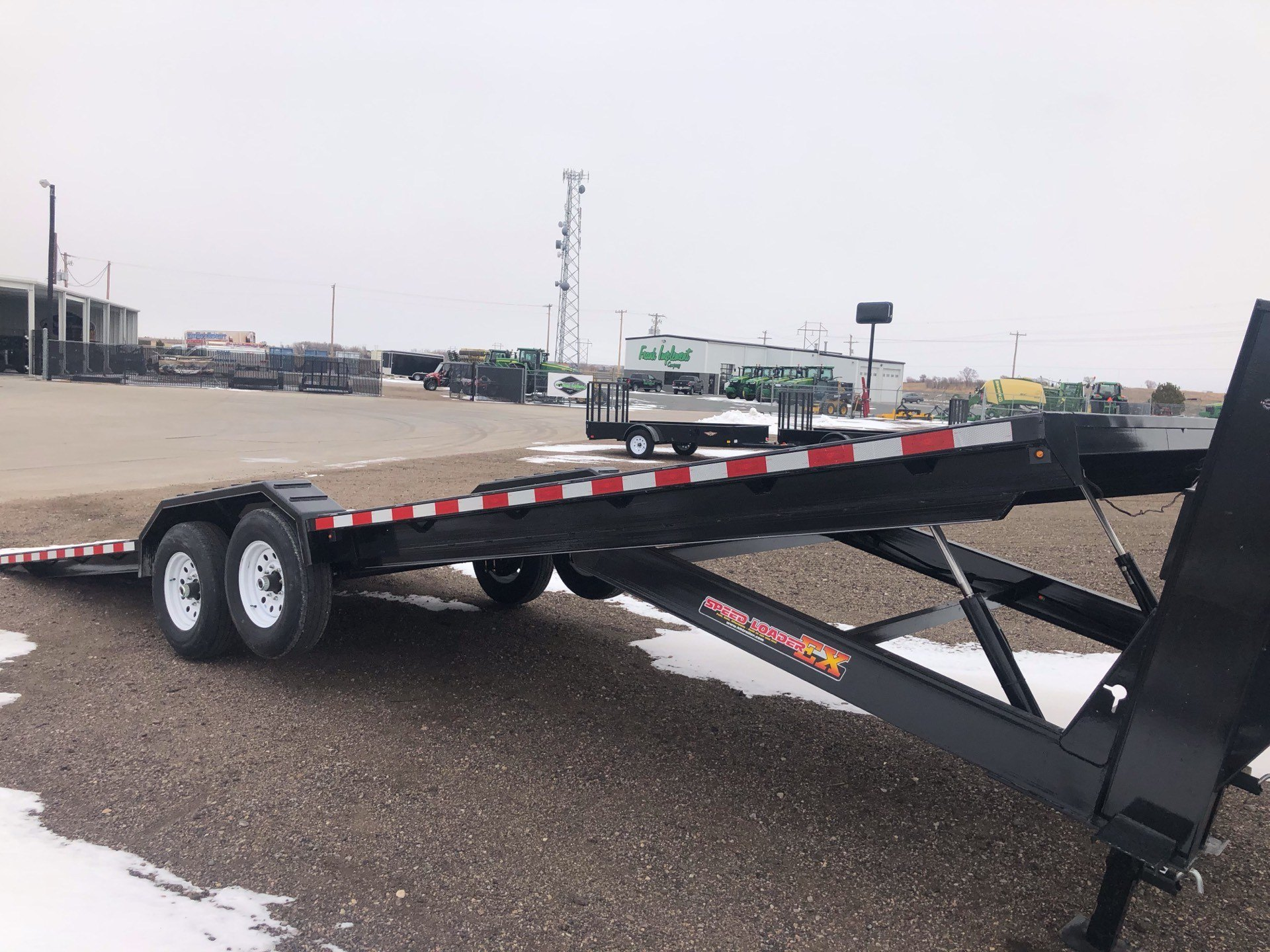 2019 H&H Trailers H&H 82X28 EX HD GN SPEEDLOADER 14K in Scottsbluff, Nebraska - Photo 2