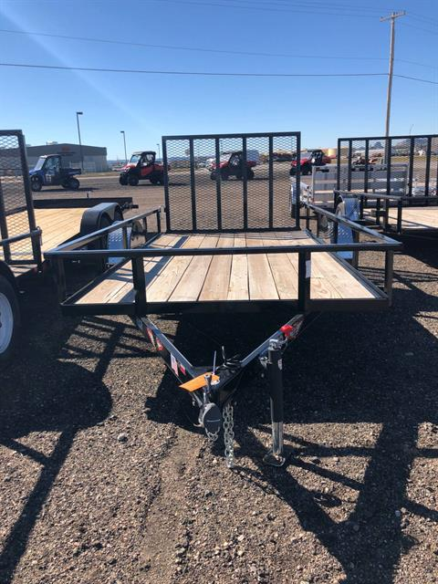 2018 H&H H&H 8X12 STEEL RAIL SIDE 3.5K TRAILER in Scottsbluff, Nebraska