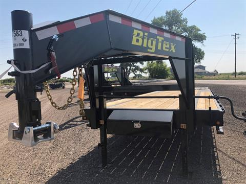 2019 Big Tex Trailers - Manufacturers BIG TEX 25' GOOSENECK 15.9K TANDEM TRAILER W/5' MEGA RAMPS in Scottsbluff, Nebraska