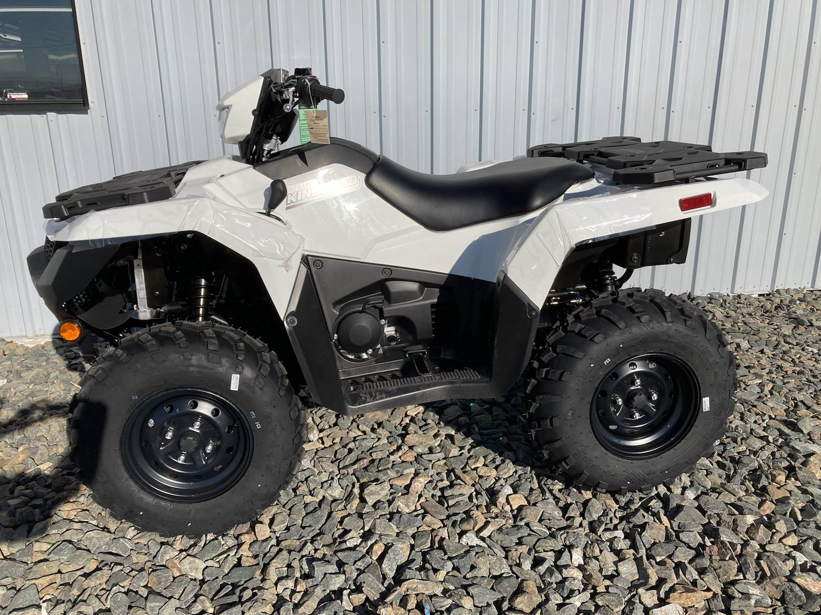 2021 Suzuki KingQuad 500AXi Power Steering in Scottsbluff, Nebraska - Photo 1