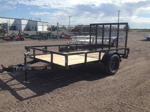 2020 H&H Trailers H7610RS-030 76x10 Steel Rail 3.5K in Scottsbluff, Nebraska