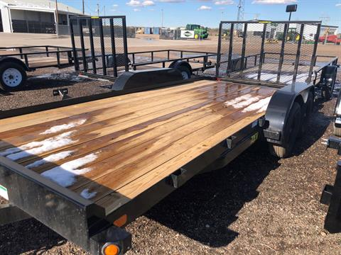 2019 Big Tex Trailers BIG TEX 18' 7 K TANDEM CAR HAULER in Scottsbluff, Nebraska