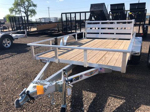2018 H&H Trailers H&H H7610RDS-030 8X10 RAILSIDE ALUMINUM in Scottsbluff, Nebraska