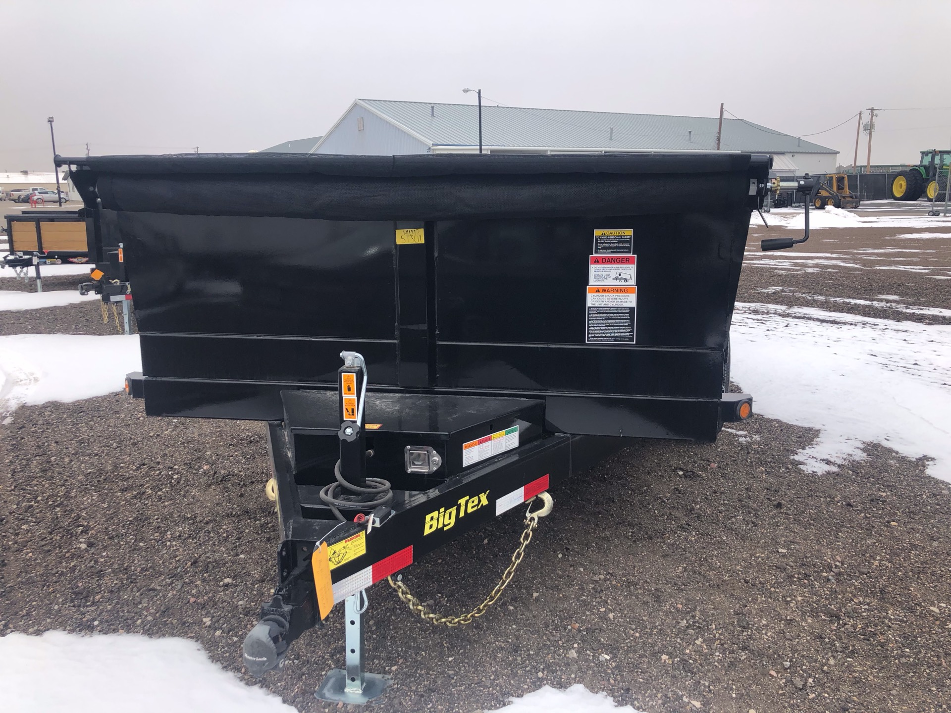 2019 Big Tex Trailers - Manufacturers BIG TEX 12' DUMP TRAILER 14K TANDEM DUMP W/TARP KIT in Scottsbluff, Nebraska - Photo 1