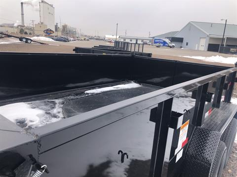 2019 Big Tex Trailers - Manufacturers BIG TEX 12' DUMP TRAILER 14K TANDEM DUMP W/TARP KIT in Scottsbluff, Nebraska