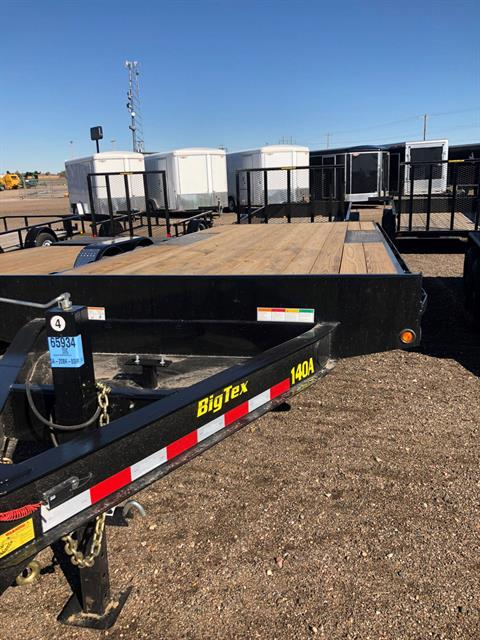 2019 Big Tex Trailers BIG TEX 20' FLATBED TRAILER in Scottsbluff, Nebraska
