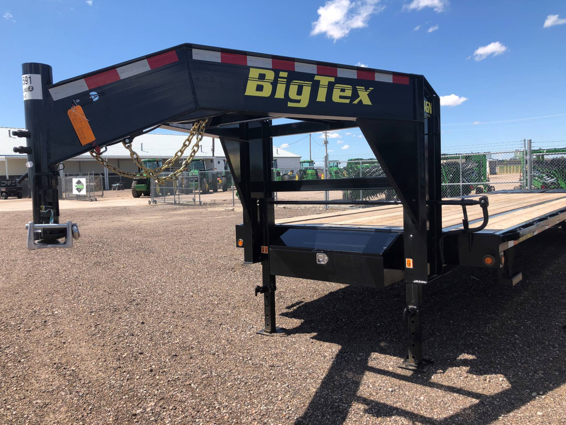 2018 Big Tex Trailers - Manufacturers 28' GOOSENECK in Scottsbluff, Nebraska