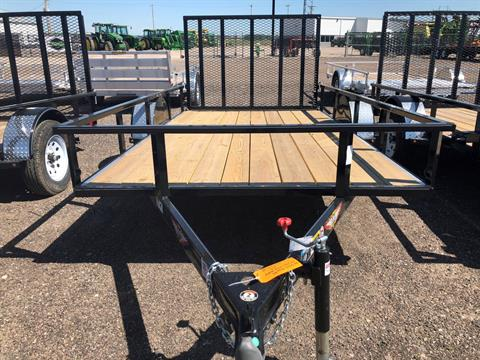 2019 H&H 2019 H&H 8X12 STEEL RAIL SIDE 3.5K TRAILER in Scottsbluff, Nebraska