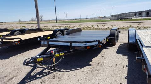 2016 Big Tex Trailers - Manufacturers 7K TANDEM DM CAR HAULER 7'X18' in Scottsbluff, Nebraska