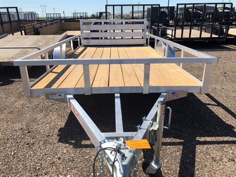 2019 H&H 2019 H&H 8X12 RAILSIDE ALUM STD TRAILER in Scottsbluff, Nebraska