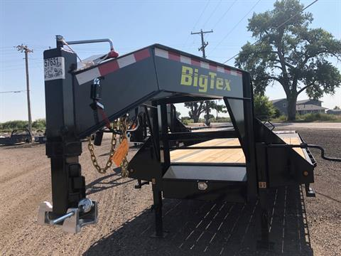 2019 Big Tex Trailers - Manufacturers 2019 BIG TEX 25' GOOSENECK TANDEM GOOSENECK W/5' MEGA RAMPS in Scottsbluff, Nebraska