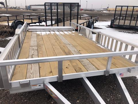 2019 H&H Trailers H&H 8.5X14 RAILSIDE ALUMINUM ATV 3K in Scottsbluff, Nebraska