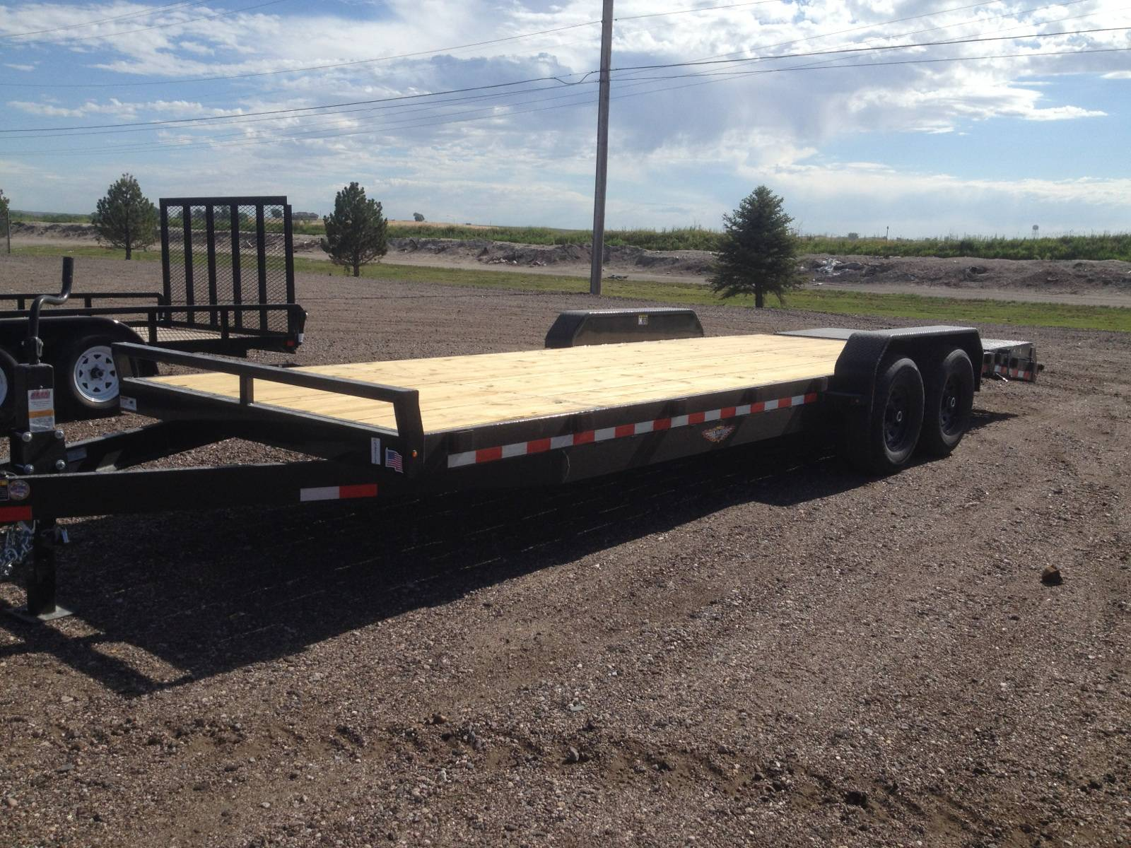 2020 H&H Trailers H8220+4Ilsdr-140 82x20+4 Super Deluxe 14K in Scottsbluff, Nebraska