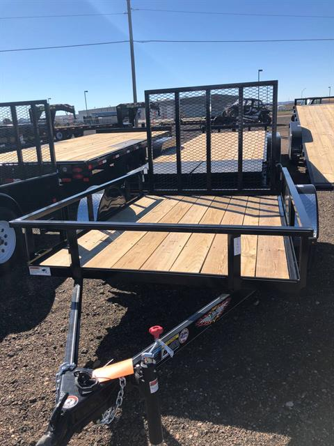 2019 H&H H&H 5.5X8 STEEL RAIL SIDE 3.5K in Scottsbluff, Nebraska
