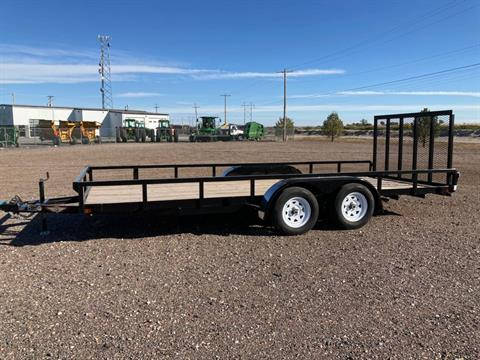 2019 H&H Trailers H8218TRS-070 in Scottsbluff, Nebraska
