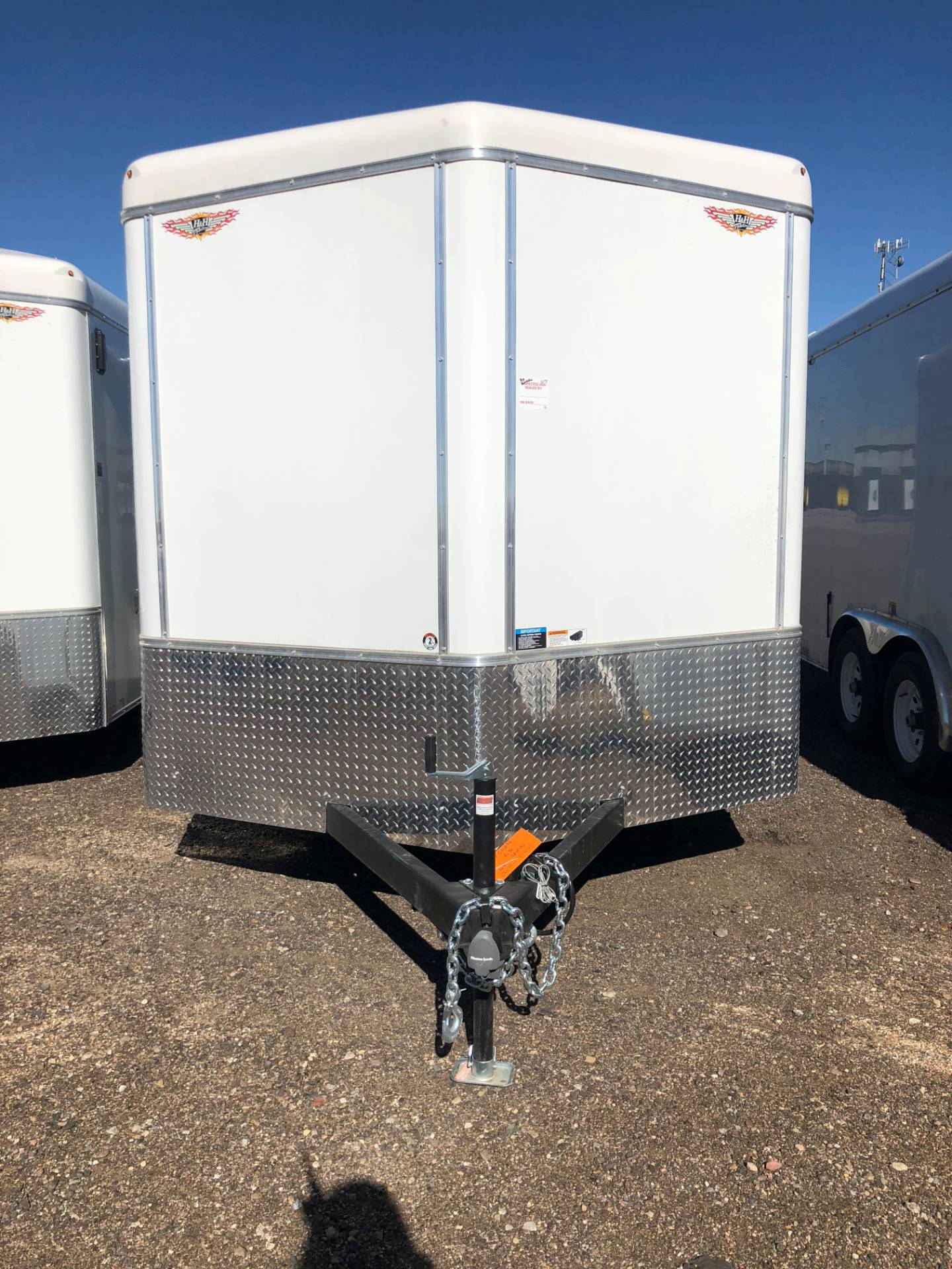 2019 H&H H&H TANDEM AXLE CARGO 8X16 TRAILER in Scottsbluff, Nebraska