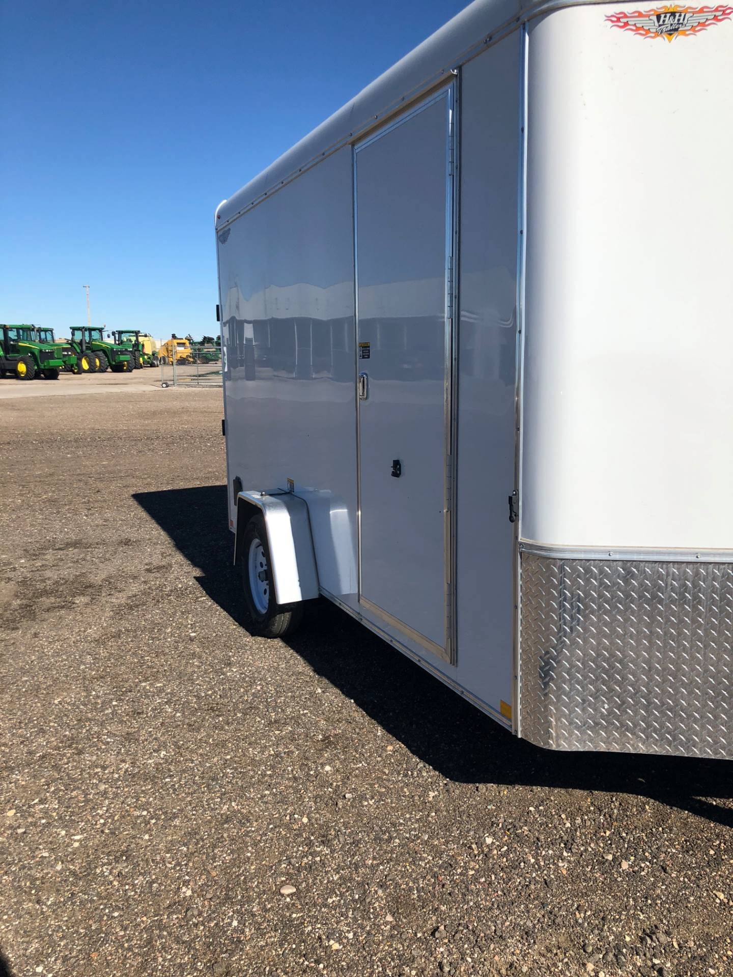 2019 H&H H&H SINGLE AXLE CARGO 7X12 TRAILER in Scottsbluff, Nebraska