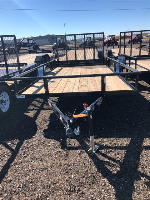 2019 H&H H&H 8.5X14 STEEL RAIL SIDE 3.5K in Scottsbluff, Nebraska