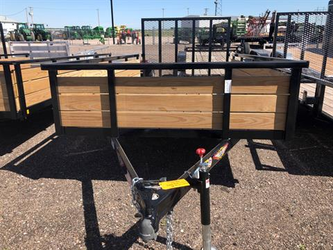 2019 H&H 2019 H&H 8X12 STEEL WOOD SIDE 3.5k TRAILER in Scottsbluff, Nebraska